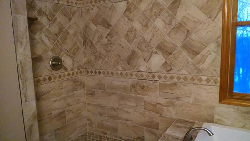 Custom Ceramic Tile Installation