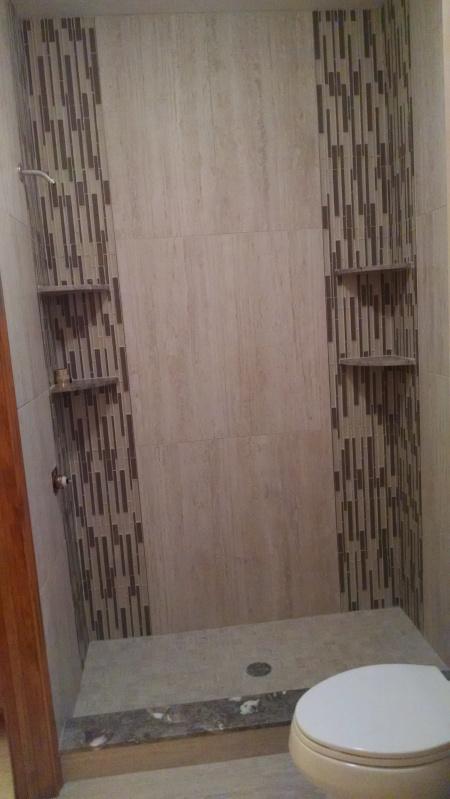 Custom Ceramic Tile Installation for Shower Enclosures