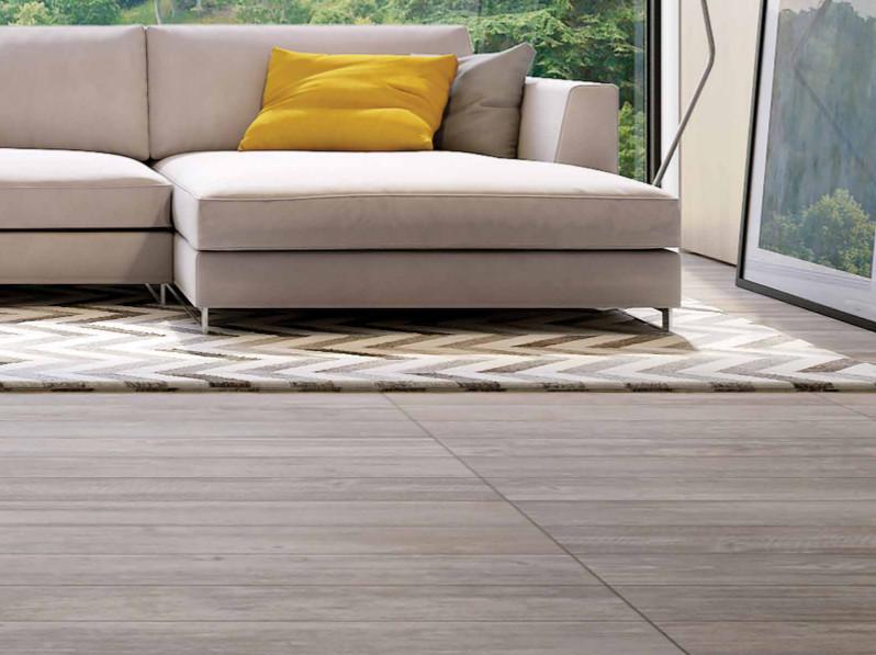 Sunwood Pro Centenial Gray Ceramic Tile Room Scene