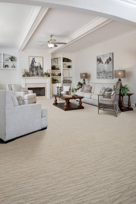 Aura Perspective Carpet Installation